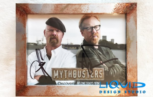 Mythbusters Weathered Frame