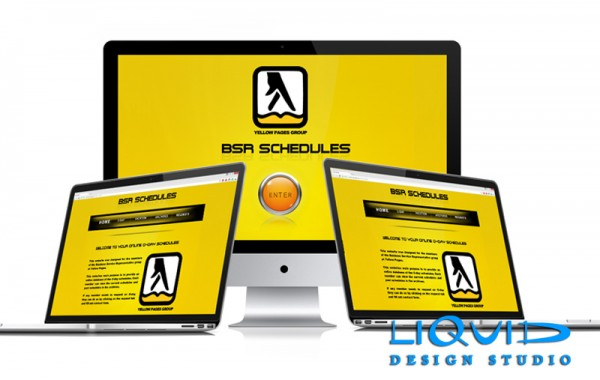Yellow Pages Schedule site