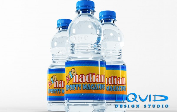 KIDnadian Sports Water Bottles