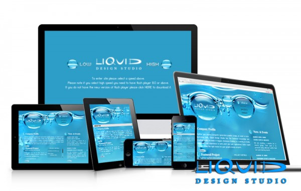 Old Liquid Design Studio Website